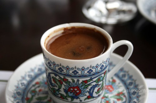 Turkish Coffee in Istanbul, Turkey