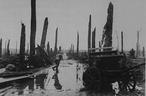 Ypres Sept 1917 Plank Track