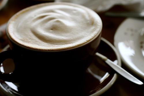 Saturday: Meringue Coffee at Flax