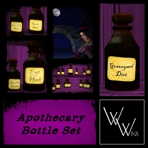 Winx - Apothecary Bottles