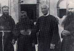 First Capuchins with Padre Palomo