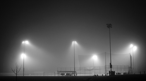 foggy baseball