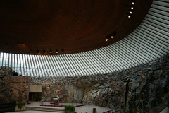 Temppeliaukion kirkko テンペリアウキオ教会