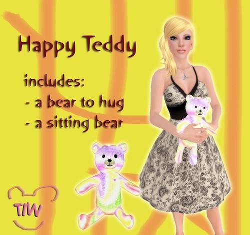 Happy Teddy ad