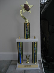 My football trophy!