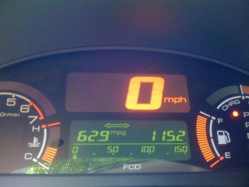Good fuel economy