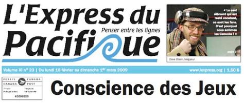 L'Express Pacifique Cover