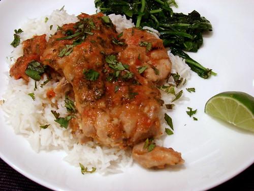 Dinner:  April 21, 2009