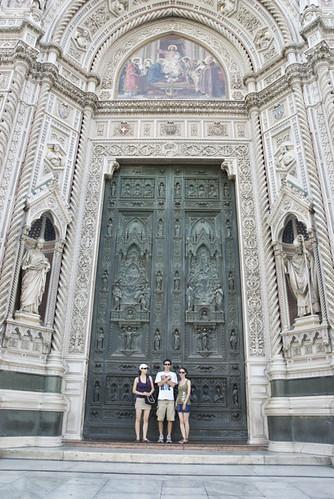Duomo doors.