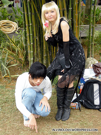 L and Misa from Deathnote