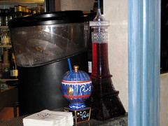 Paris themed drinks at Le Petite Bar in the Paris in Las Vegas