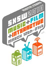 SXSW logo banner for 2010