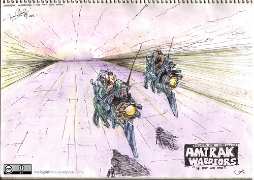1989 (Oct) Amtrak Warriors - The men who dare