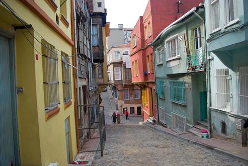 Balat streets, Balat, Istanbul, Pentax K10d