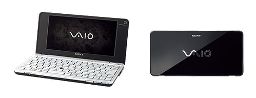Sony VAIO VGN-P90 dengan warna Onix Black