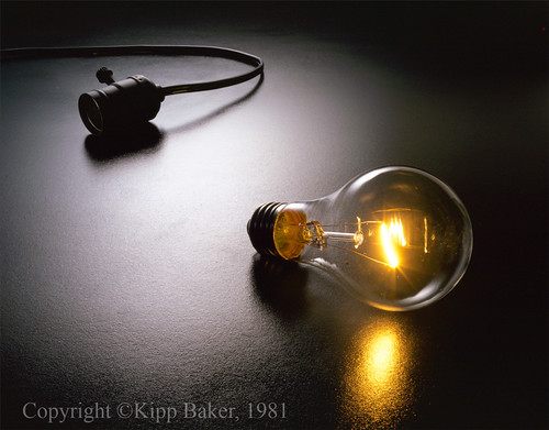 The Big Idea - Light Bulb & Socket by kippbakr, on Flickr