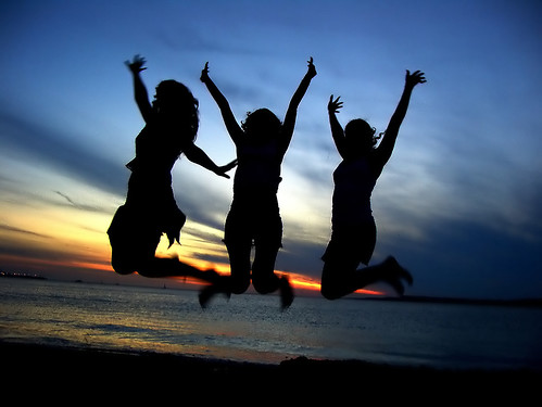 bigstockphoto_Three_Girl_Friends_Celebrating_212140
