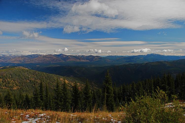 Priscilla Peak trail 433