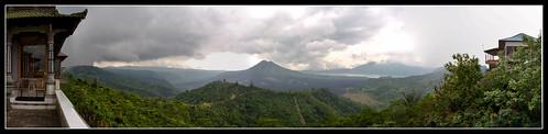 Gunung Batur pano by Dad Bear