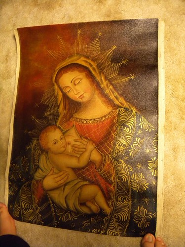 The Virgin's milk.