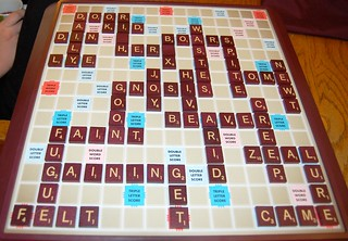 New Game :) What does a Scrabble game you play...