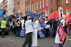 Protest March - Organised By The Unions