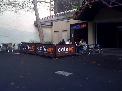 Cafe 407, surry hills