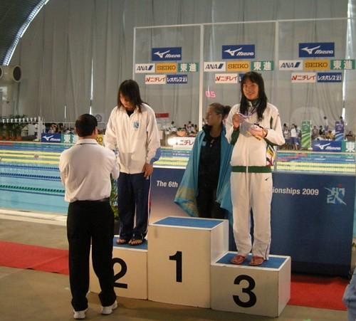 812利安琪女A200米蛙泳獲銅牌