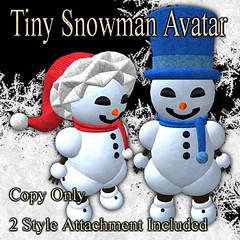 Tiny Snowman Avatar