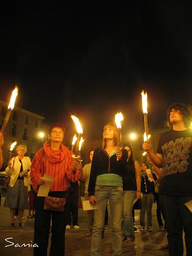 flamme de la paix