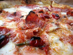 antico pizza - mmmm ... diavaola