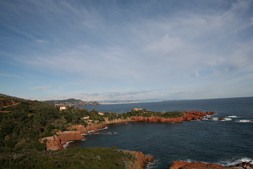 Mediterranean coast near Cannes