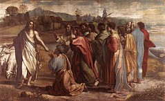 800px-V&A_-_Raphael,_Christ's_Charge_to_Peter_(1515)