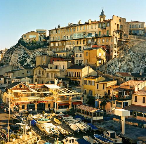 Fishing Village In Marseille