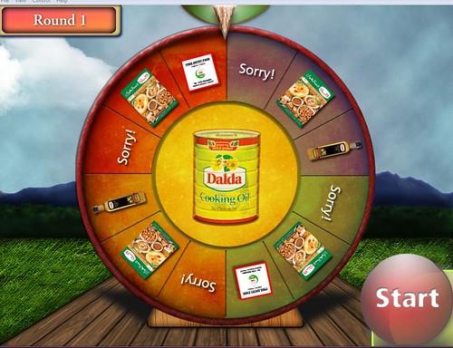 Dalda Wheel Of Fortune