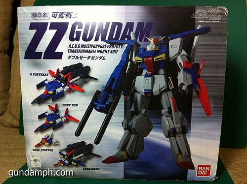metal build zz gundam