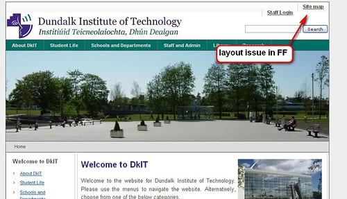 DKIT homepage