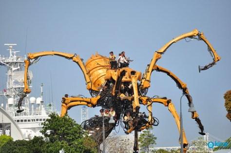 LaMachine yokohama parade kumo spider