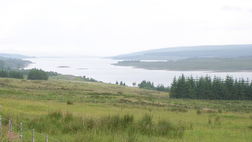 Loch Shin getting closer to Lairg
