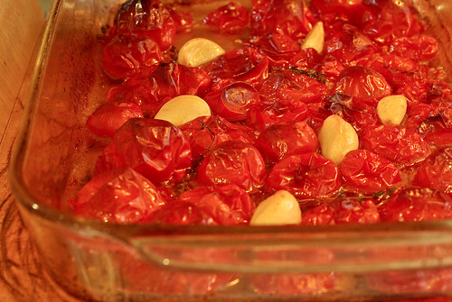 roasted tomatoes & garlic