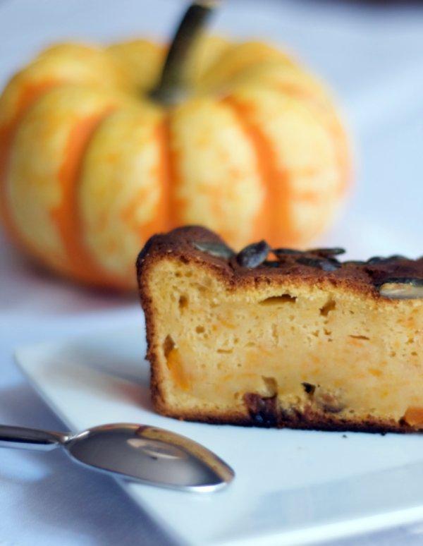 plum cake de calabaza