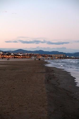 Valencia's Beach