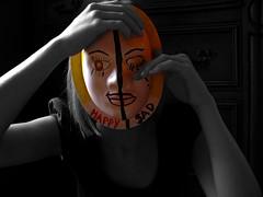 Masked.