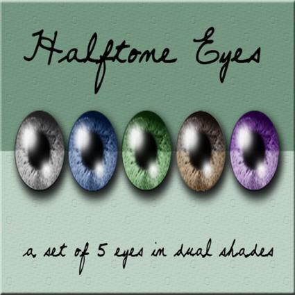 =HooT= - Halftone Eyes