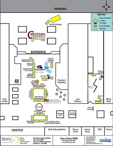 TWAN Christown Map