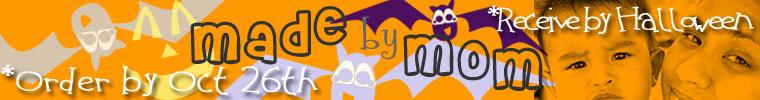 Halloween Etsy Shop Banner