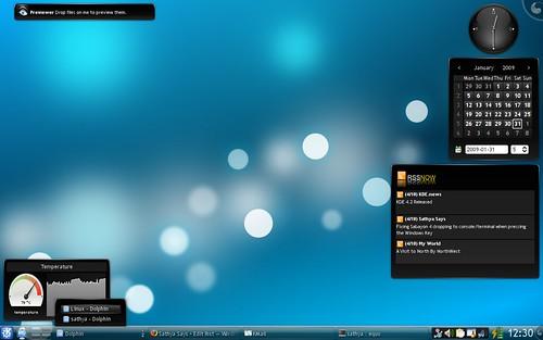 KDE 4.2 grouping