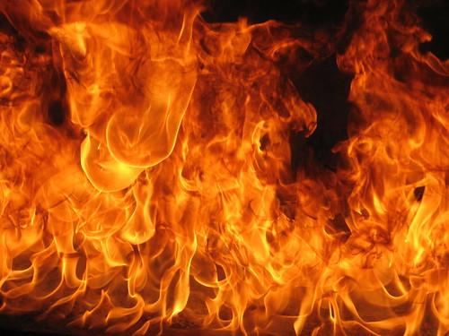 flaming gold