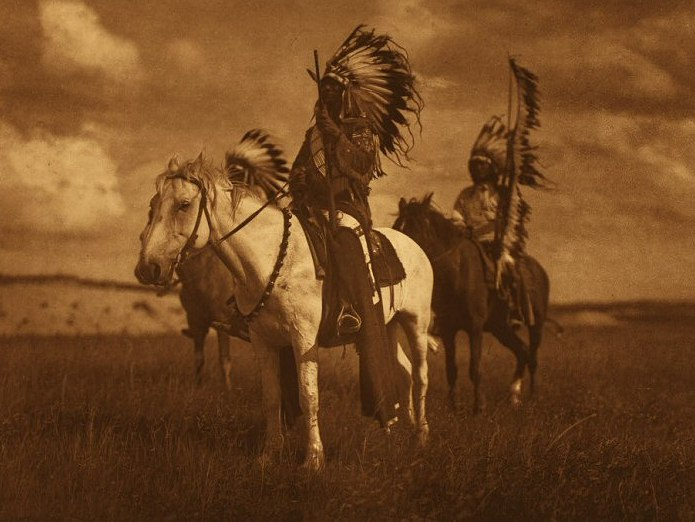 Edward S. Curtis, Sioux Chiefs
