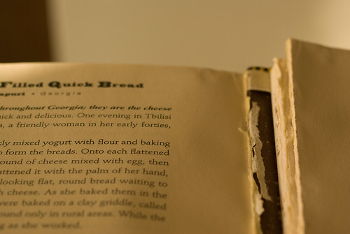 well loved cookbook